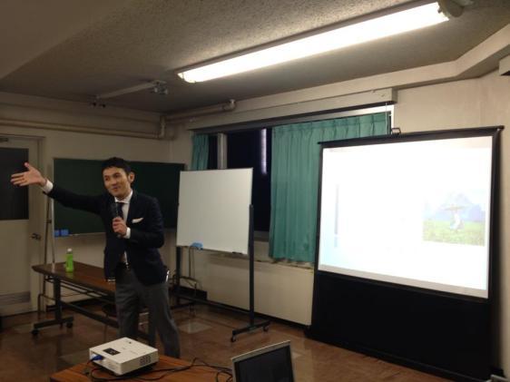 ゲスト講師、飯田先生