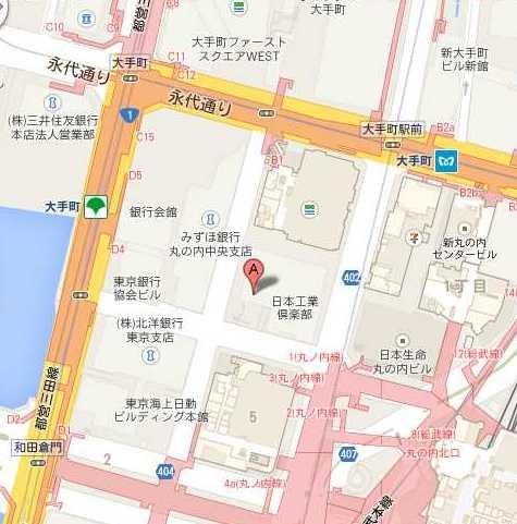 35.683553,139.764359 (ディーン&デルーカ 丸の内(三菱UFJ信託銀行本店ビル 1F)) - Google マップ